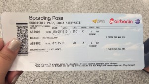 My Boarding Pass - Study Abroad