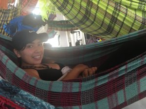 These were the hammocks that we slept in the Riverboat with 40 other SASers
