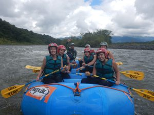 White Water Rafting in the Pastaza River